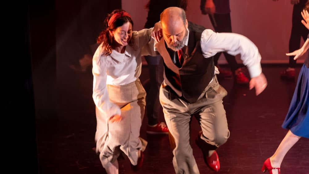 FUSE Diverse Dance's Put On Ypur Red Shoes at The Plymouth Athenaeum (Feb 2019) - credit David Snowdon