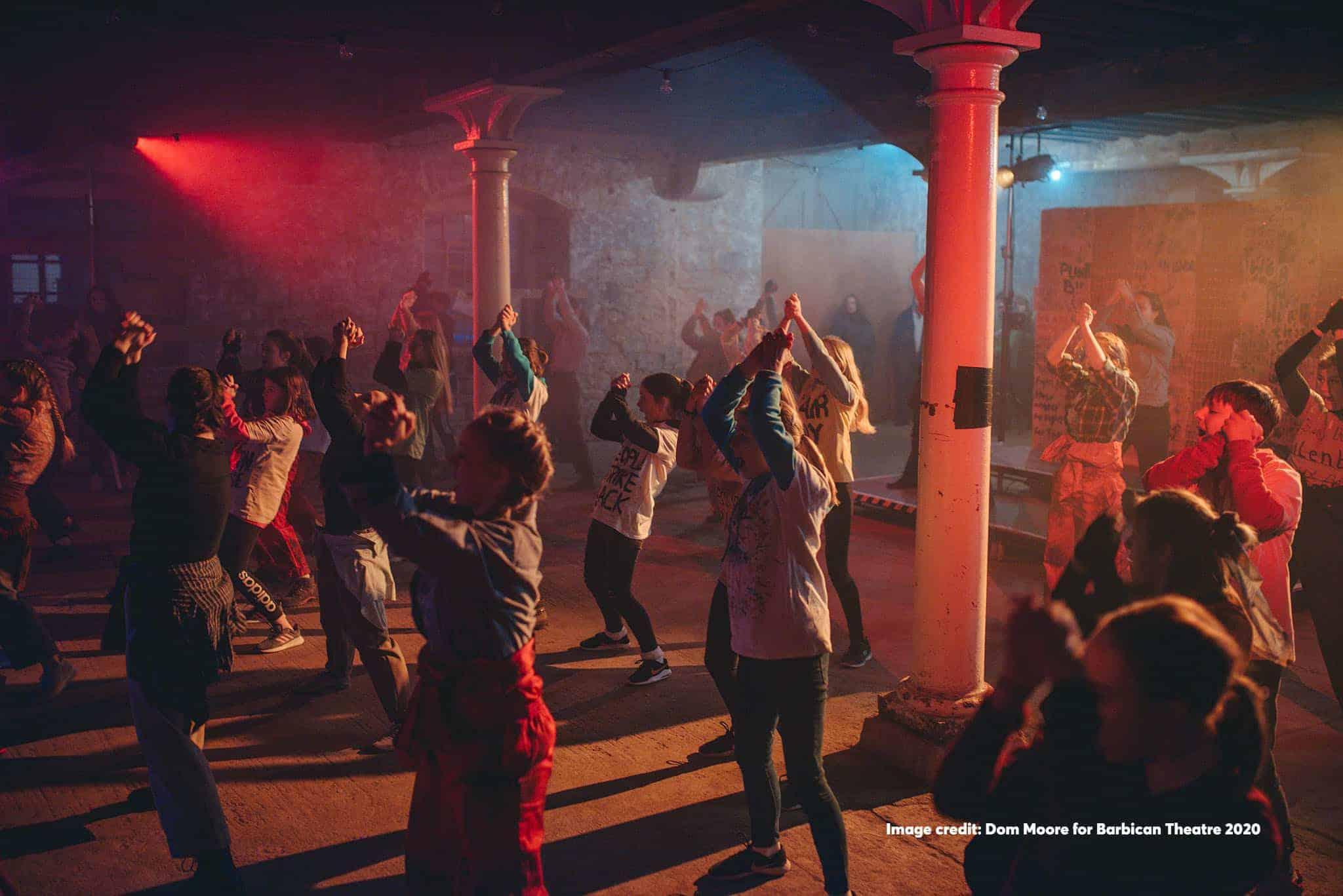 Barbican ReBels performing at CIVIC @ Royal William Yard Feb 2020